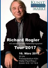 Plakat KaW Richard Rogler Tour 2017
